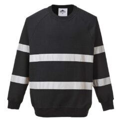 Bluza robocza PORTWEST B307 IONA do pracy odzież dla pracowników bhp sklep system internetowy pasy odblaskowe wygodne ciepła czarna
