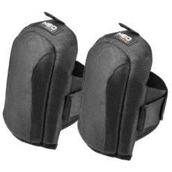 Nakolanniki z poduszką NEO TOOLS 97-538 miękkie elastyczne do pracy w klęczkach dla glazurnika bhp sklep system internetowy wytrzymałe czarne na rzep