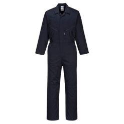 Kombinezon roboczy PORTWEST C815 do pracy ochronny dla pracowników uniform strój jednoczęściowy bhp sklep system internetowy odzież ochronna wytryzmała wygodna kieszenie na nakolanniki granatowy